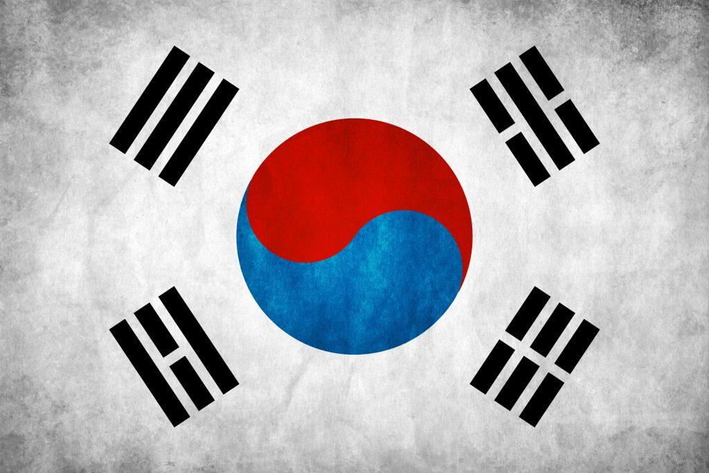 Koreanische Nationalflagge